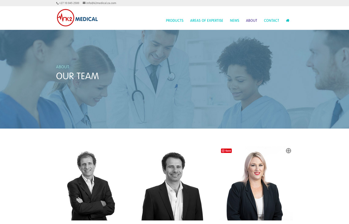 K2 Medical website team