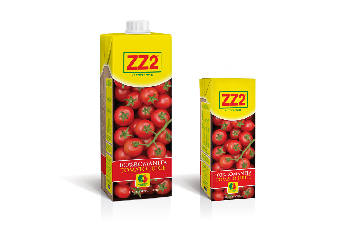 graphic design | ZZ2 Tomato Juice