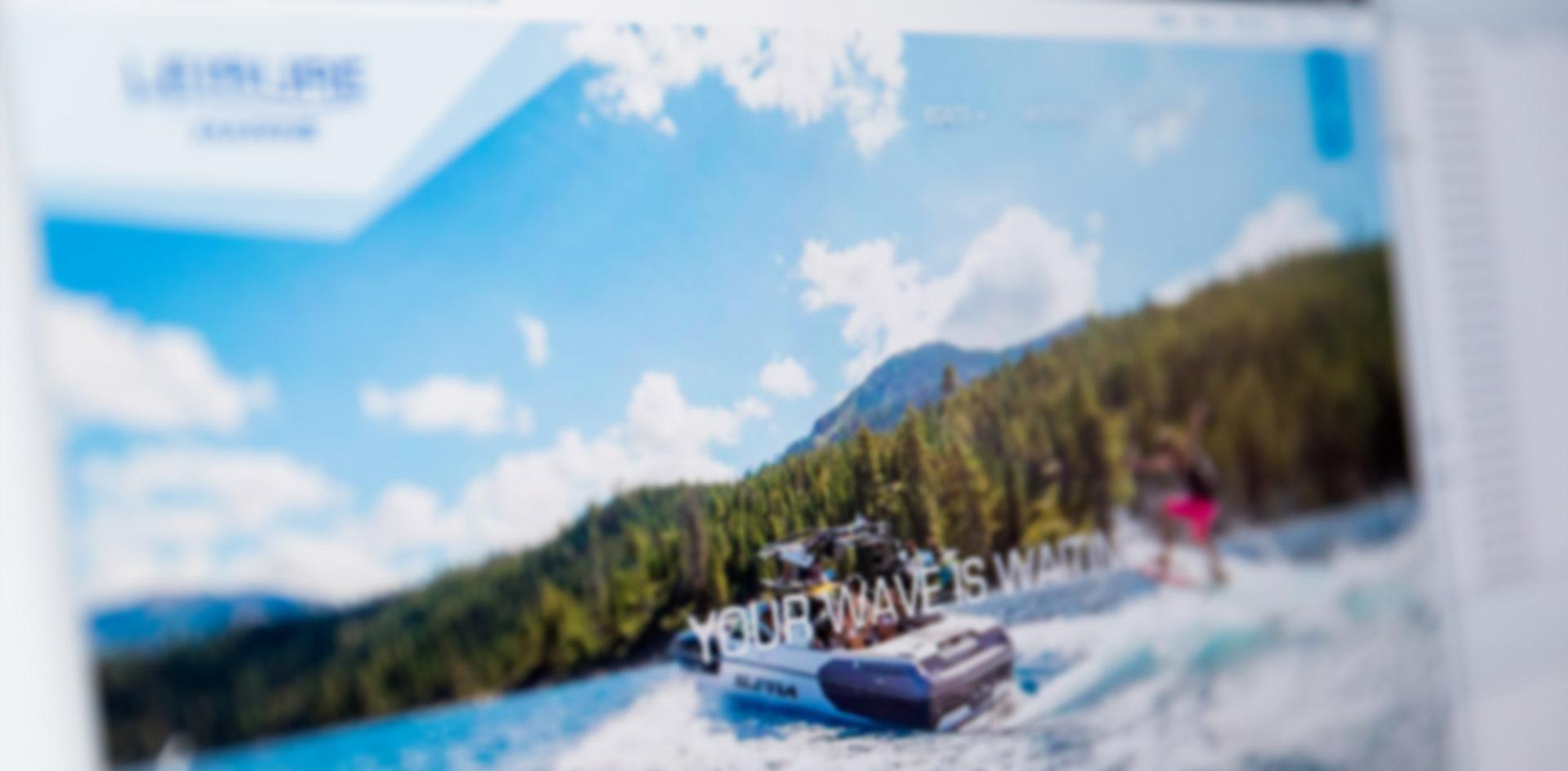 Leisuremarine Web Design & Graphic Design by Black Rooster Studios