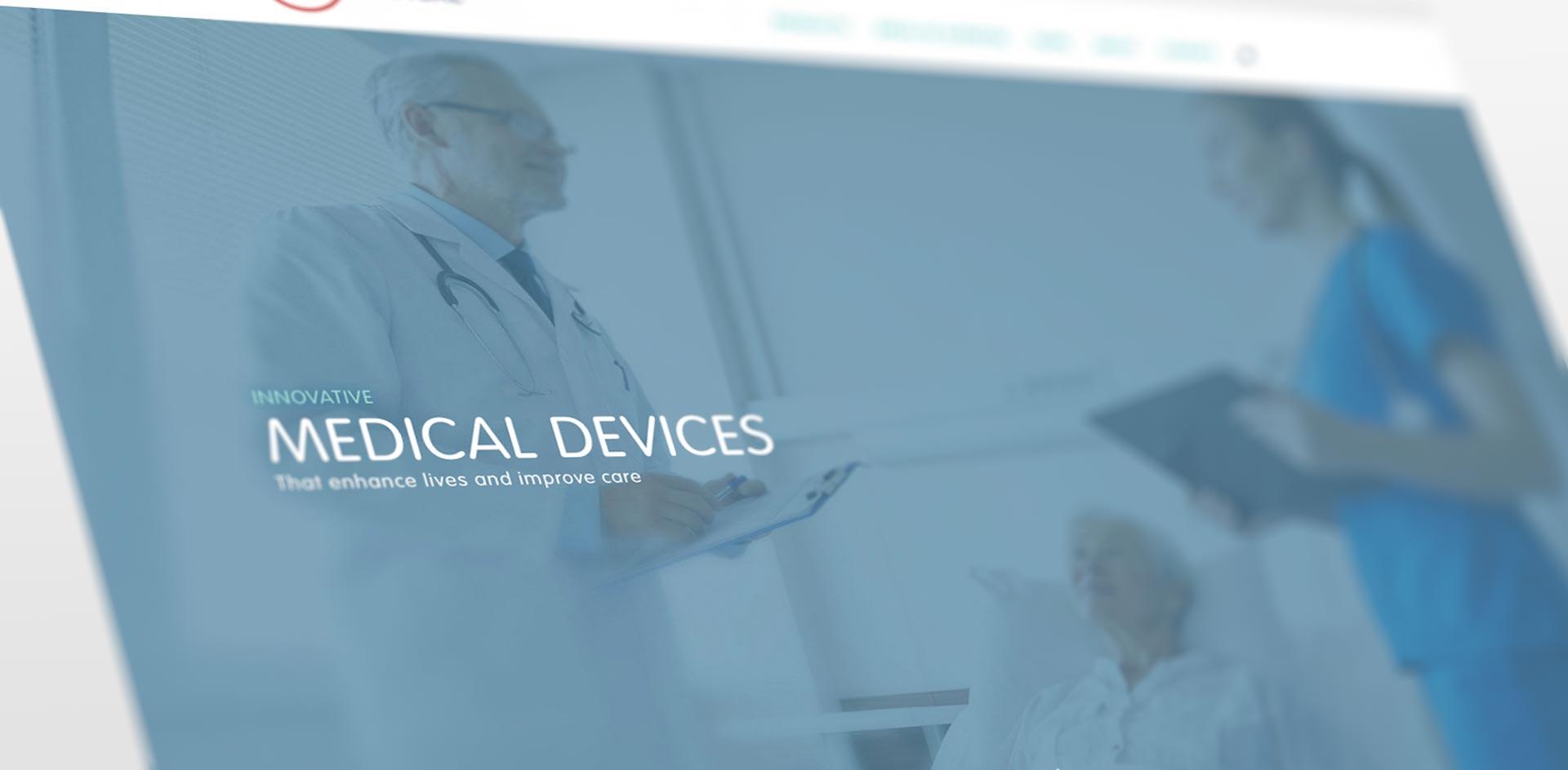 K2 Medical website development by Black Rooster Studios.