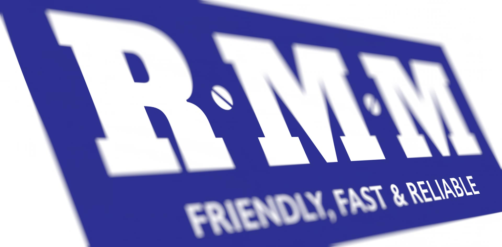 RMM Building supplies logo design by Black Rooster Studios.